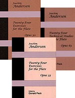 The Andersen Etudes [Complete set - 3 volumes] cover