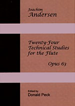 Twenty-Four Technical Studies for the Flute - Opus 63 cover