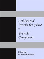 Celebrated Works for Flute By French Composers cover