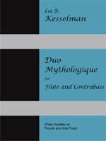 Duo Mythologique For Flute and Contrabass cover
